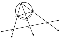 Proof of Ptolemy's Theorem