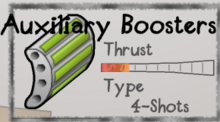 Auxiliary Boosters
