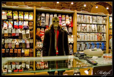 The Demon Socks Seller by Mentezufis