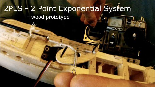 2PES - 2 Point Exponential System - for madstab