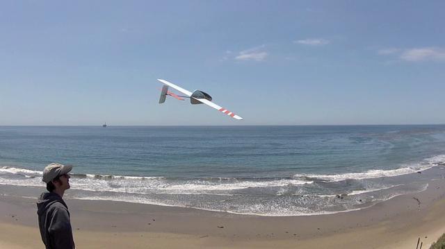 The Aero-Glide UltraBatics Slope Glider Prototype