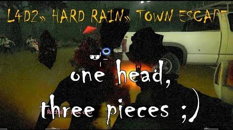 Left 4 Dead 2 Hard Rain - Town Escape (Finale) Gameplay Walkthrough Playthrough