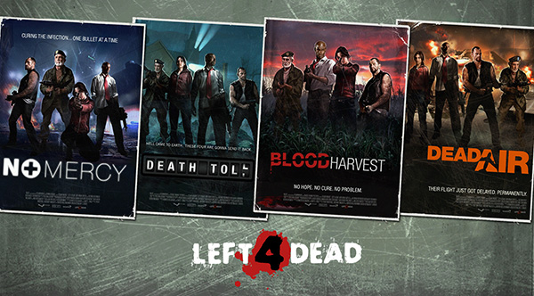 Left 4 Dead все Карты