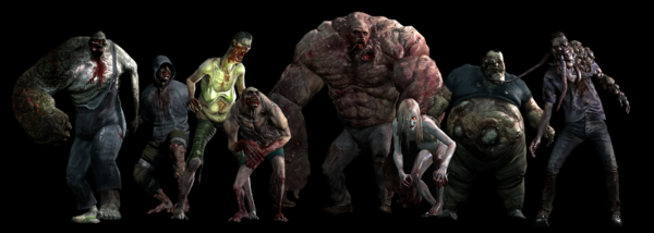 L4D2 All Special Infected