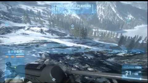 Battlefield 3 Armored Kill - Gnomes Easter Eggs on Arborz Mountain-1