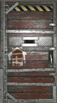 Дверь убежища