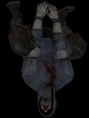 Hunter hanging black