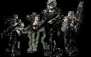 Выжившие из комикса «Жертва»