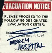 CEDA Mercy Hospital Notice
