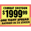 Sign gunshop combatshot