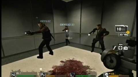 New left 4 dead elevator glitch (falling through the floor)