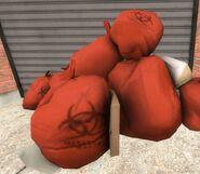 Biohazard garbage