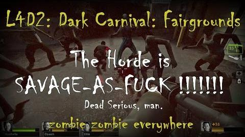 Left 4 Dead 2 Dark Carnival - The Fairgrounds Gameplay Walkthrough Playthrough