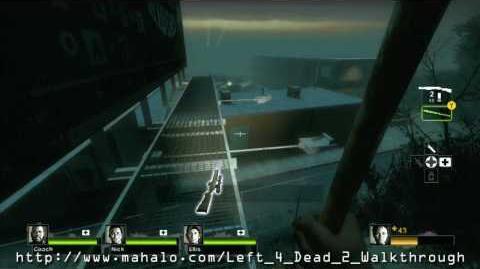 Left 4 Dead 2 Walkthrough - Campaign 2 Dark Carnival - Highway Part 1