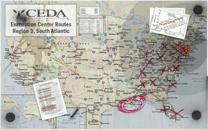 CEDA map