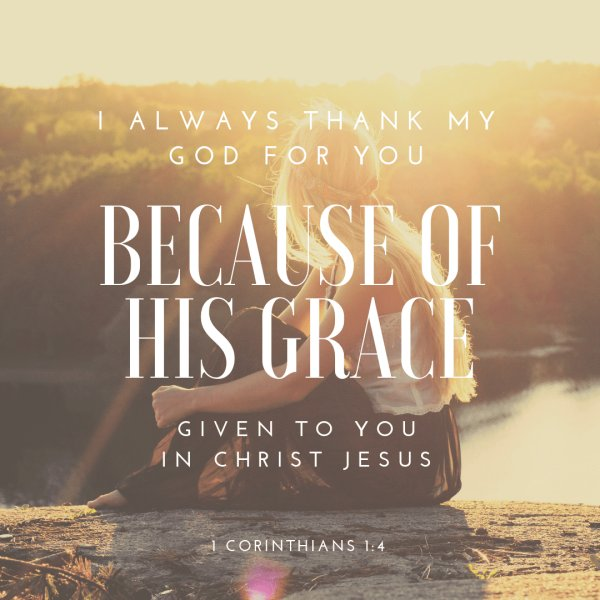 Because Of His Grace