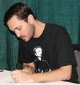 Wil Wheaton Signing autographs