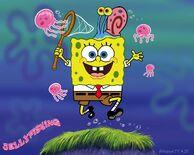 Spongebob-jellyfish