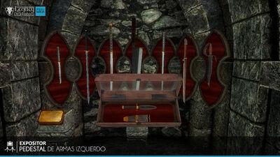 Pedestal de Armas Izquierdo