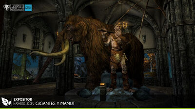 Gigantes y Mamut