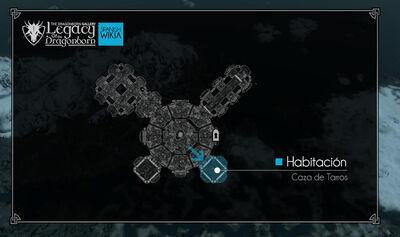 Mapa Habtacion de Tarros