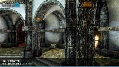 Bastones de Skyrim