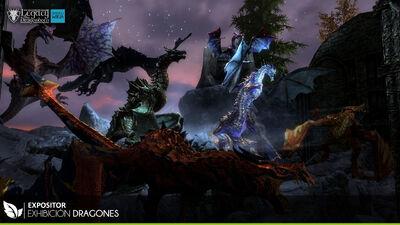 Exhibicion Dragones
