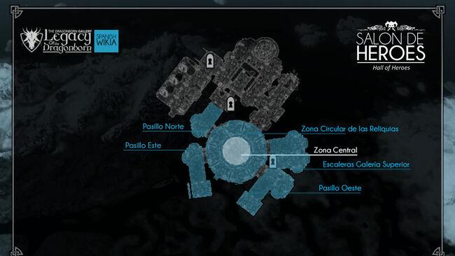 Mapa Salón de Héroes