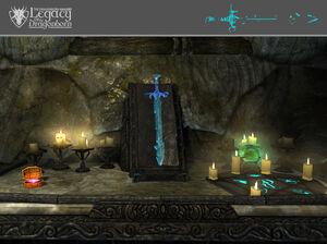 Espada Fantasma - Ubicación