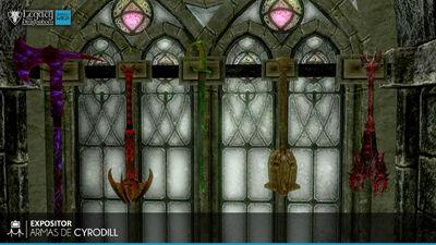 Armas de Cyrodill