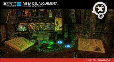 Mesa del Alquimista