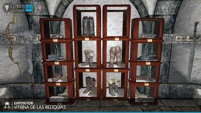 Vitrina de las Reliquias