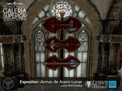 Armas de Acero Lunar Expo