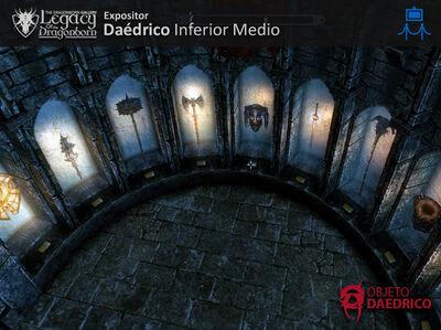 Expositor Daedricos Inferior Medio