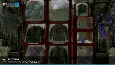 Armaduras de Cyrodill III