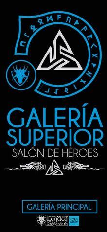 Salón de Héroes Galería Superior