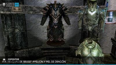 Reliquias de Brusef Amelion y Piel de Dragón