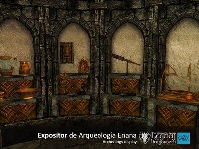 Expositor de Arquelogia enana