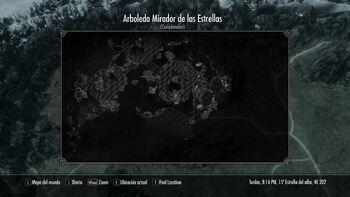 Barkrot Location map