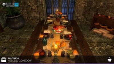 Mesa del Comedor Cocina