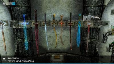 Armas Legendarias 3