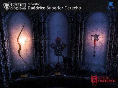 Expositor Daedricos Superior Derecho-0