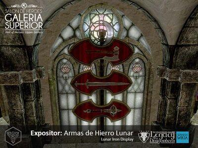 Armas de Hierro Lunar Expo