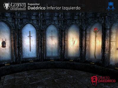 Expositor Daedricos Inferior Iznquierdo
