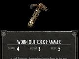 Поношенный Каменный Молот