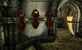 Витрина для оружия и брони 5