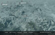 Windhelm on map