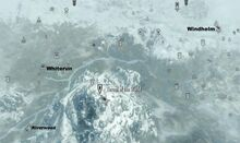 The Throat of the World on map