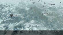 Маркарт на карте