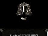 Весы Безжалостного Правосудия